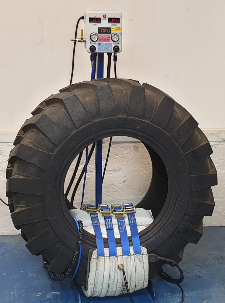 Agricultural Tyre Repair System